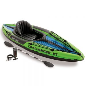 meilleur kayak gonflable monoplace intex challenger k1